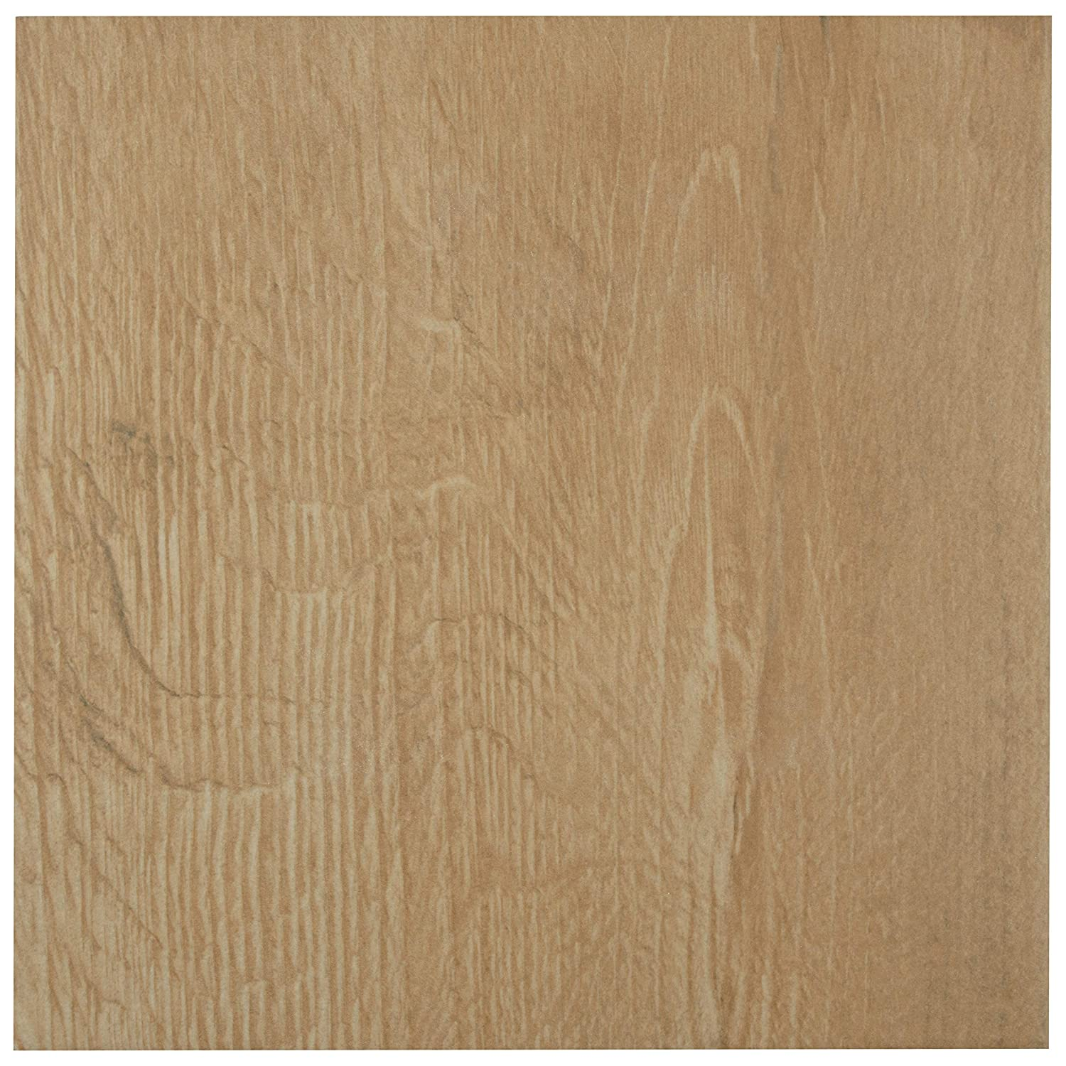 SomerTile FCD10PWG Padera Porcelain Floor and Wall Tile 9.5 x 9.5 Brown//Beige 9.5 x 9.5
