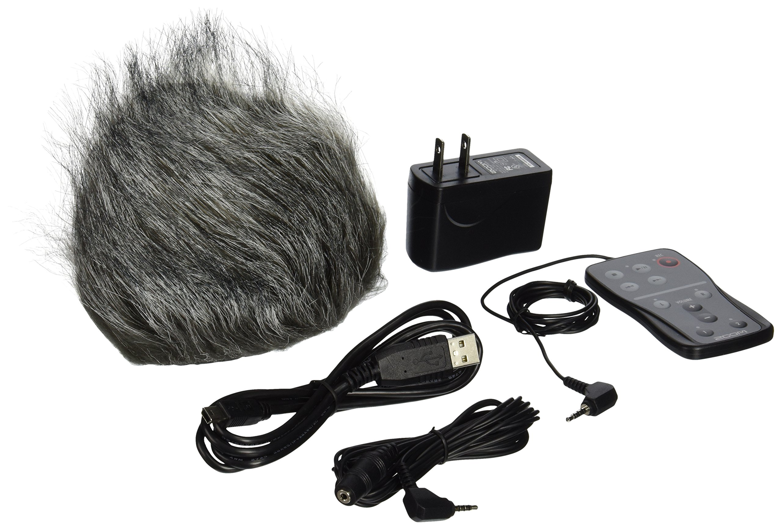 Zoom H5 Four-Track Portable Recorder with Zoom APH-5 Accessory Pack for H5