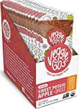 Veggie-Go's Organic Fruit and Veggie Strip with No Added Sugar, Sweet Potato, Apple, Spices, 0.425 Ounce (Pack of 20)