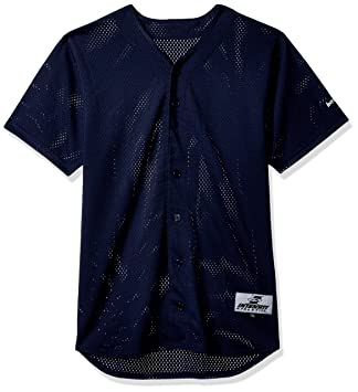 752bc1ebf02 Intensity Boy S Pro Mesh Full Button Baseball Shirt  Amazon.co.uk ...
