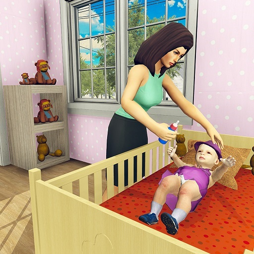 Virtual Mother simulator: Mom Happy Family Games -