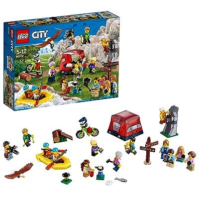 Lego City - Ensemble de figurines - Les aventures en plein air – 60202 - Jeu de Construction