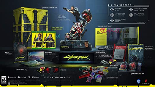 Amazon.com: Cyberpunk 2077: Collector