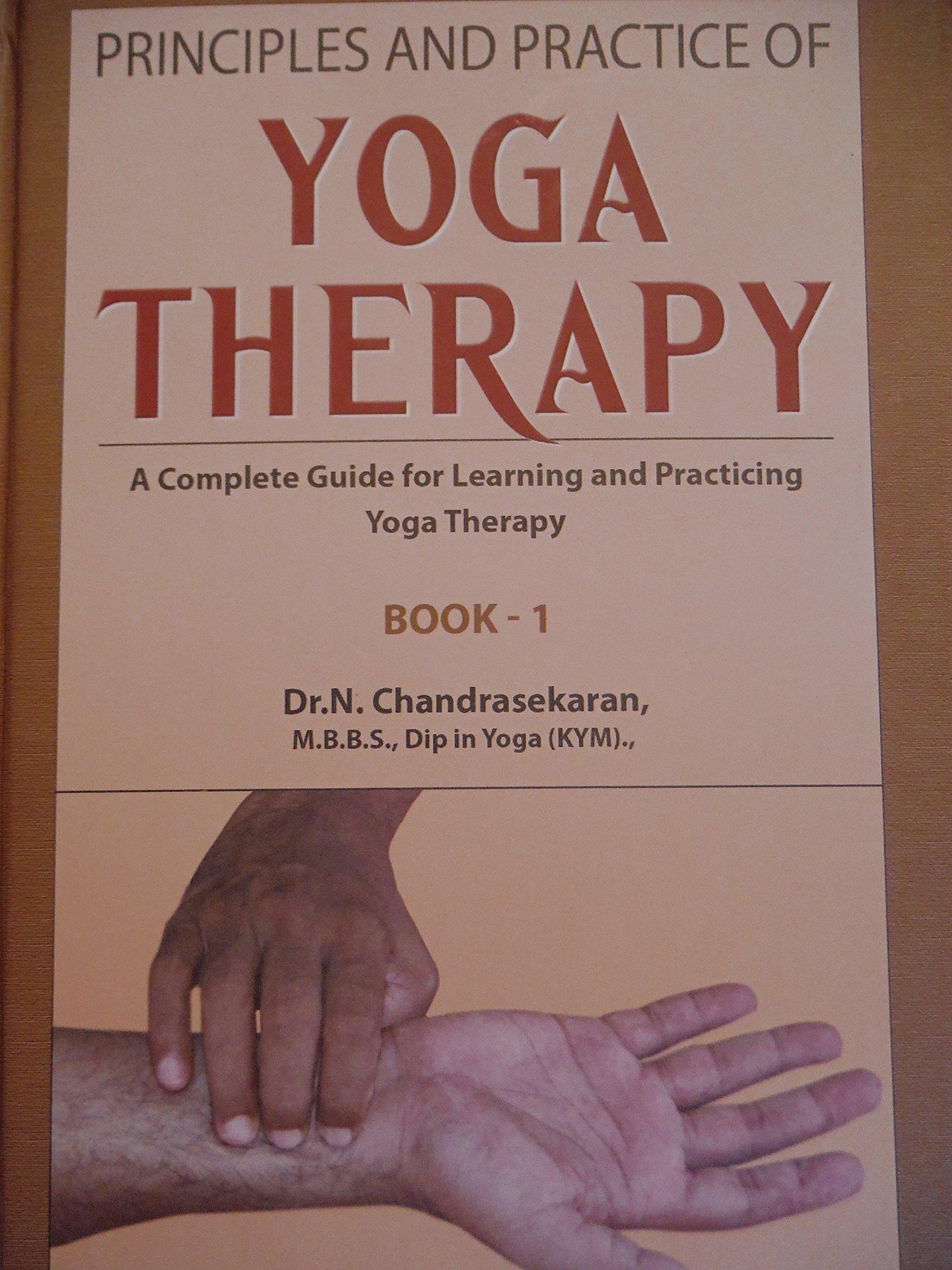 Yoga Therapy Dr N Chandrasekaran 9788192343303 Amazon Com Books