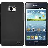 mumbi TPU Schutzhülle Samsung Galaxy S2 Plus i9105P Hülle schwarz