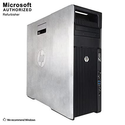 2018 HP Z620 Workstation TW Desktop Computer,Intel Xeon E5 2609 2 4G,16GB  DDR3, 120GB SSD+3TB,DVD,WiFi,USB 3 0,BT 4 0, 1GB Graphics,Win10Pro64