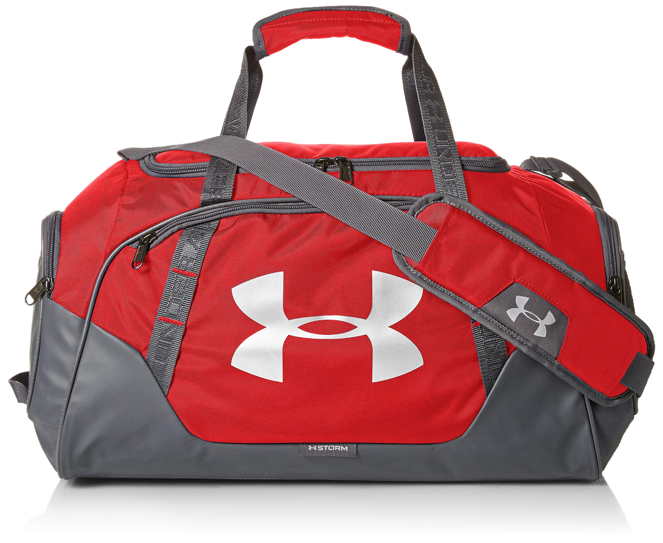 Under Armour Undeniable Duffle 3.0 Gym BagLarge Red (600)/SilverLarge by Under Armour