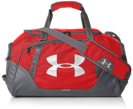Under Armour Undeniable 3.0 Duffle, Red (600)/Silver,
