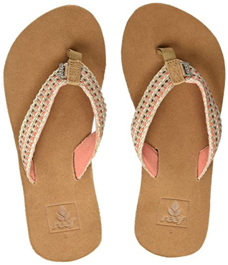 fdb55cc41cbe Reef Women s s Gypsylove Flip Flops  Amazon.co.uk  Shoes   Bags