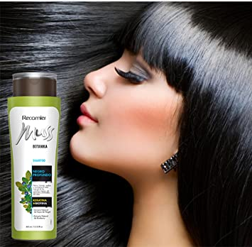 MUSS BOTANIKA NEGRO PROFUNDO SHAMPOO/ Black hair care. Daily use. 400gr/13.53