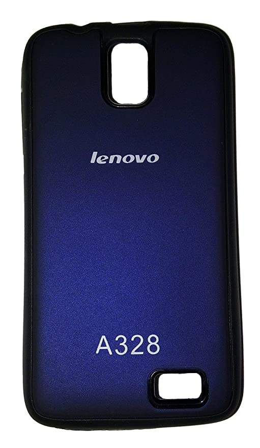 detailed pictures 724b1 fd639 Stycoon Back Cover For Lenovo A328 - Metal Slate &: Amazon.in ...