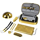 dreamGEAR Gaming Accessory Kit - accesorios de juegos de PC (Oro) - Nintendo DS