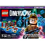 Warner Home Video -LEGO Dimensions Bundle: Simpsons Krusty Fun pack ,Ghostbusters Level Pack, & Ghostbusters Story Pack - Ghostbusters Edition