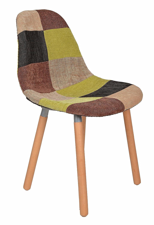 Brilliant Sessel Stuhl Esszimmer Dekoration Von Ts-ideen 1 X Design Klassiker Patchwork Retro