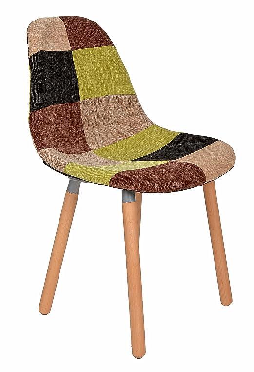 Stuhl Klassiker Holz 1 x design klassiker patchwork sessel retro 50er jahre barstuhl