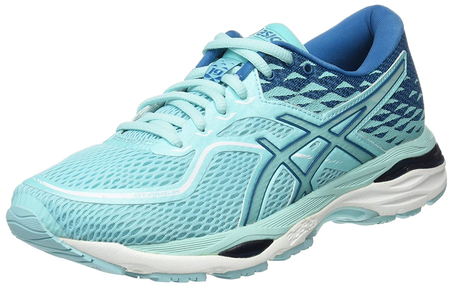 ASICS Gel-Cumulus 19 Womens Running Trainers T7B8N Sneakers Shoes (UK 6.5  US 8.5 EU 40.5, Aruba Blue Turkish Tile 8888)