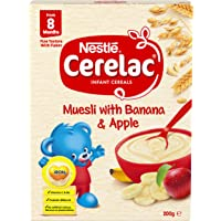 Nestlé CERELAC Muesli with Banana and Apple Infant Cereal Bag in Box 200g