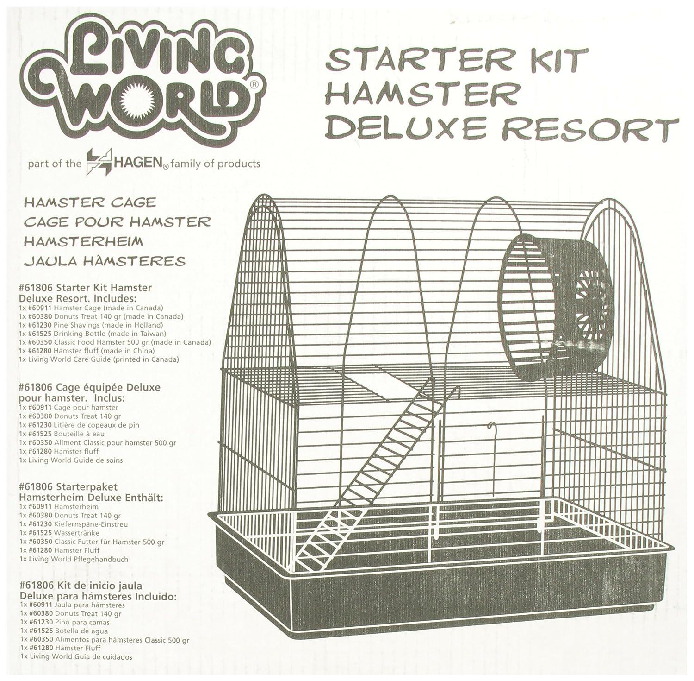 Amazon.com: Living world Deluxe hámster Resort Starter Kit ...