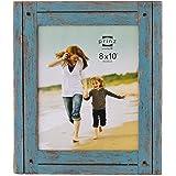 8x10 Homestead Distressed Blue Wood Frame