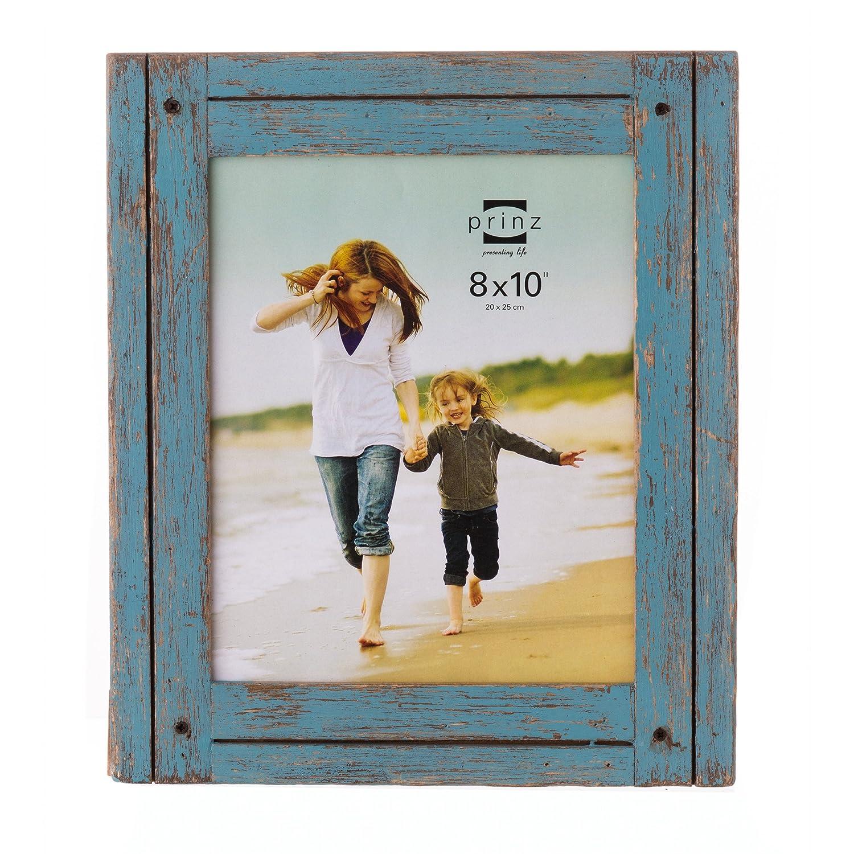 Amazon.de: PRINZ Homestead Holz Rahmen, Distressed Blue, 8 x 10