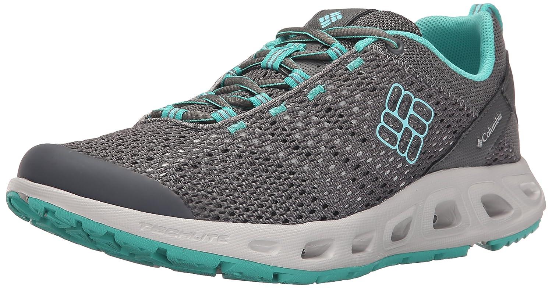 Columbia Women's Drainmaker III Trail Shoe B01015RMBS 6 B(M) US Quarry/Candy Mint