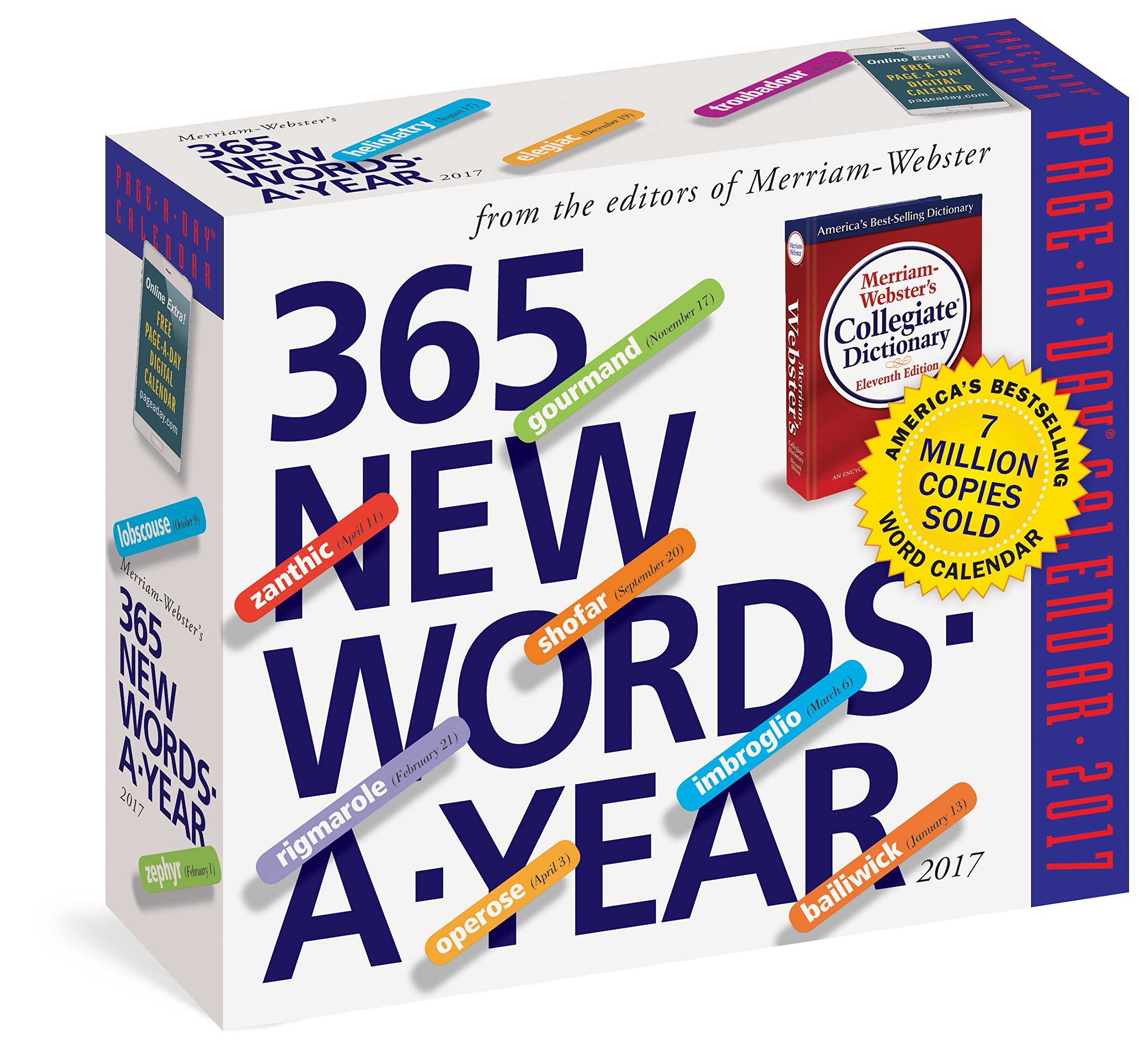 365 new words a year calendar 2017 amazon co uk merriam webster