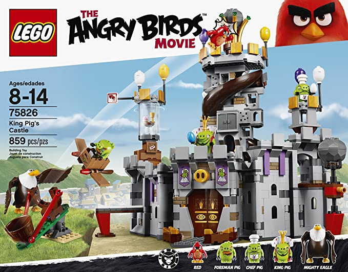 LEGO the Angry Birds movie minifigure Red 75826