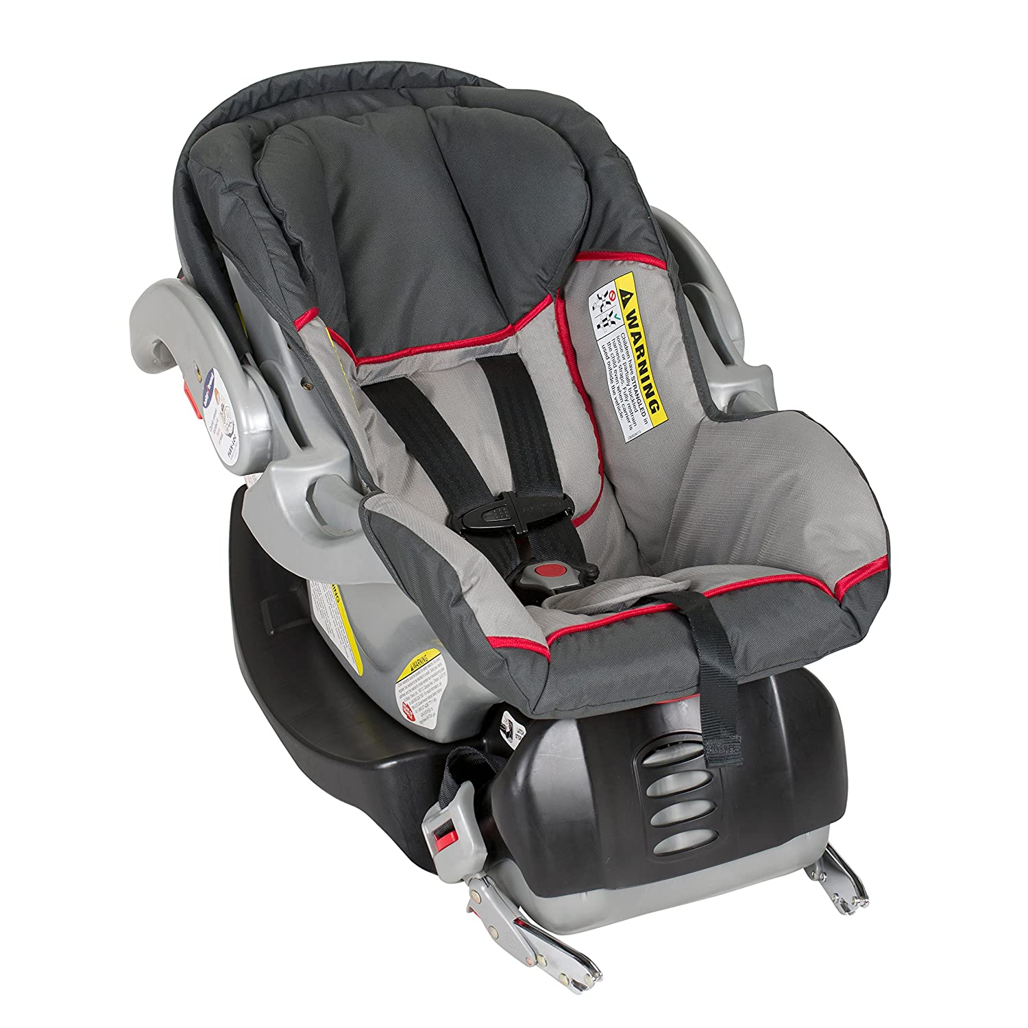Amazon Com Baby Trend Flex Loc Infant Car Seat Graphite Baby
