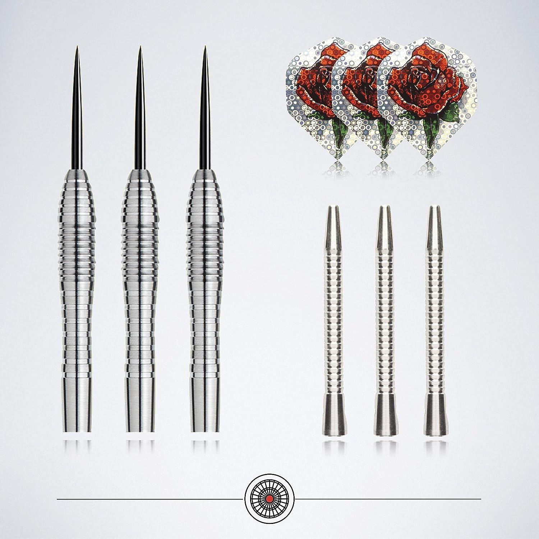 25 g/27g – Steel de dardos profesional set