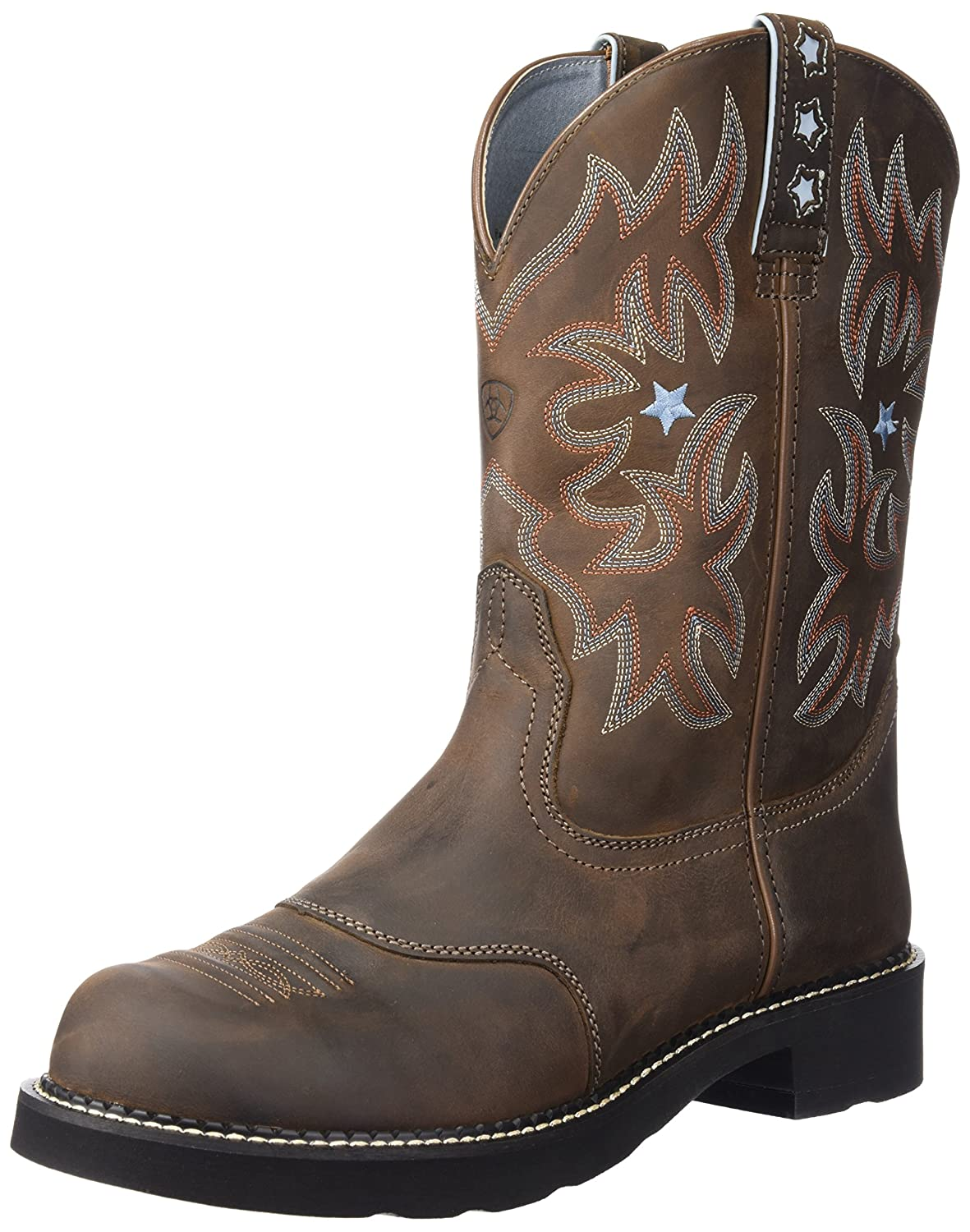 Ariat Women's Probaby Western Cowboy Boot B000EM18BO 7.5 B(M) US|Driftwood Brown