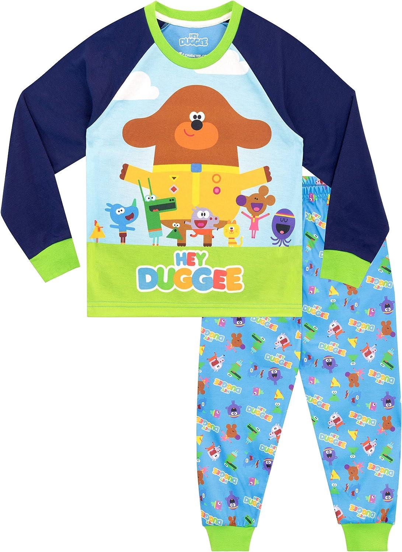 Boys Pyjamas Hey Duggee Pjs Team Roarsome Dinosaur Pajamas 18 Months to 5 Years