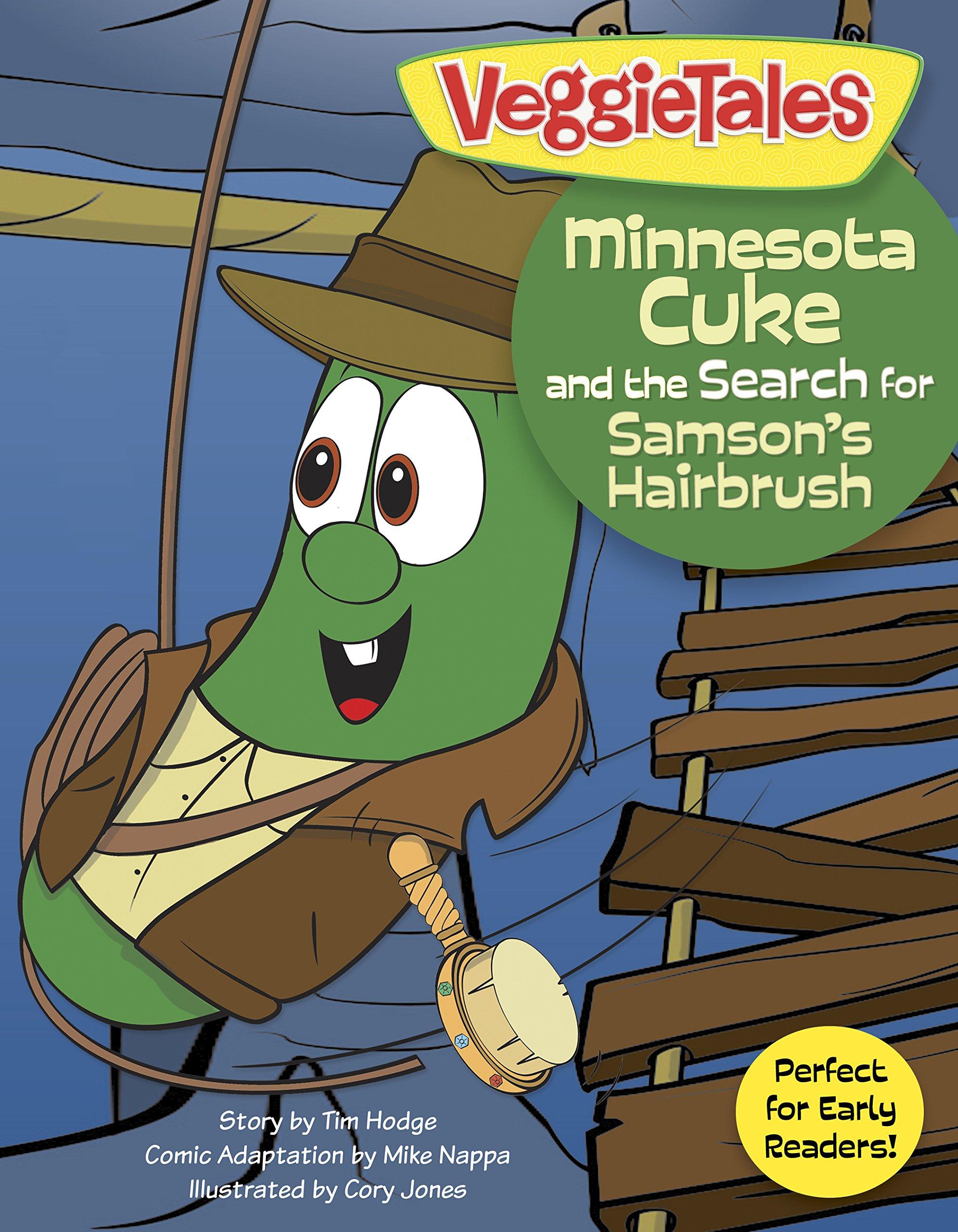 Minnesota Cuke and the Search for Samson's Hairbrush (VeggieTales) PDF