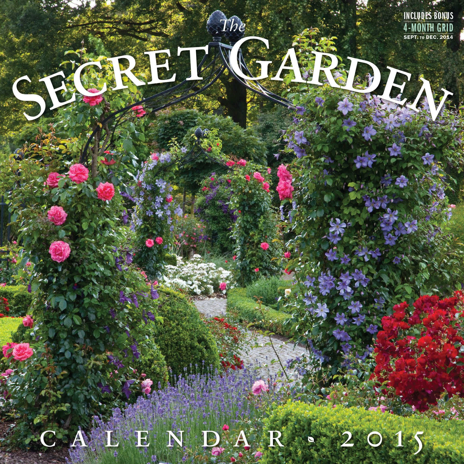 Secret Garden 2015 Wall Calendar Workman Publishing