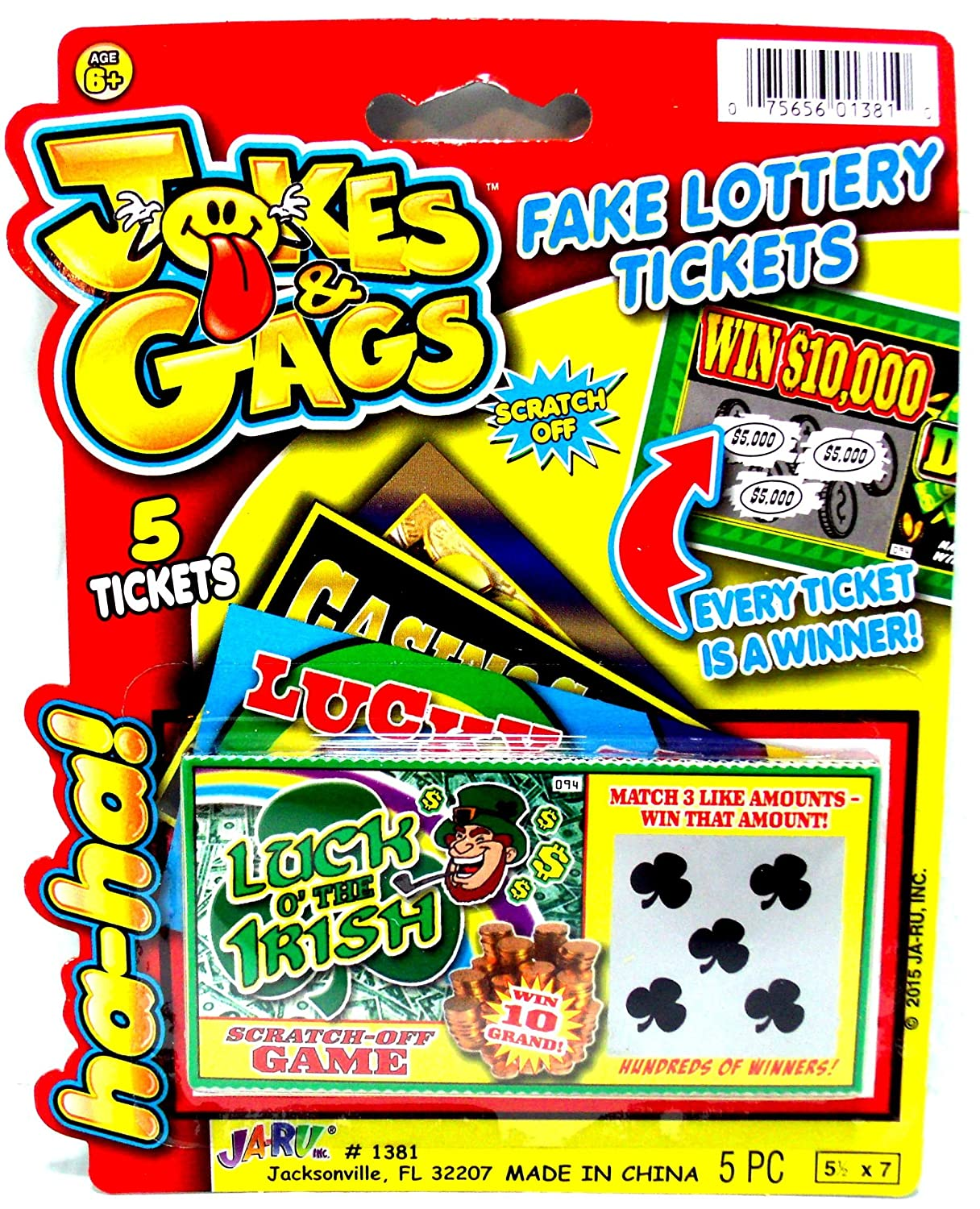 Practical Ticket 5 000 Pack Always Lottery Scratch-off