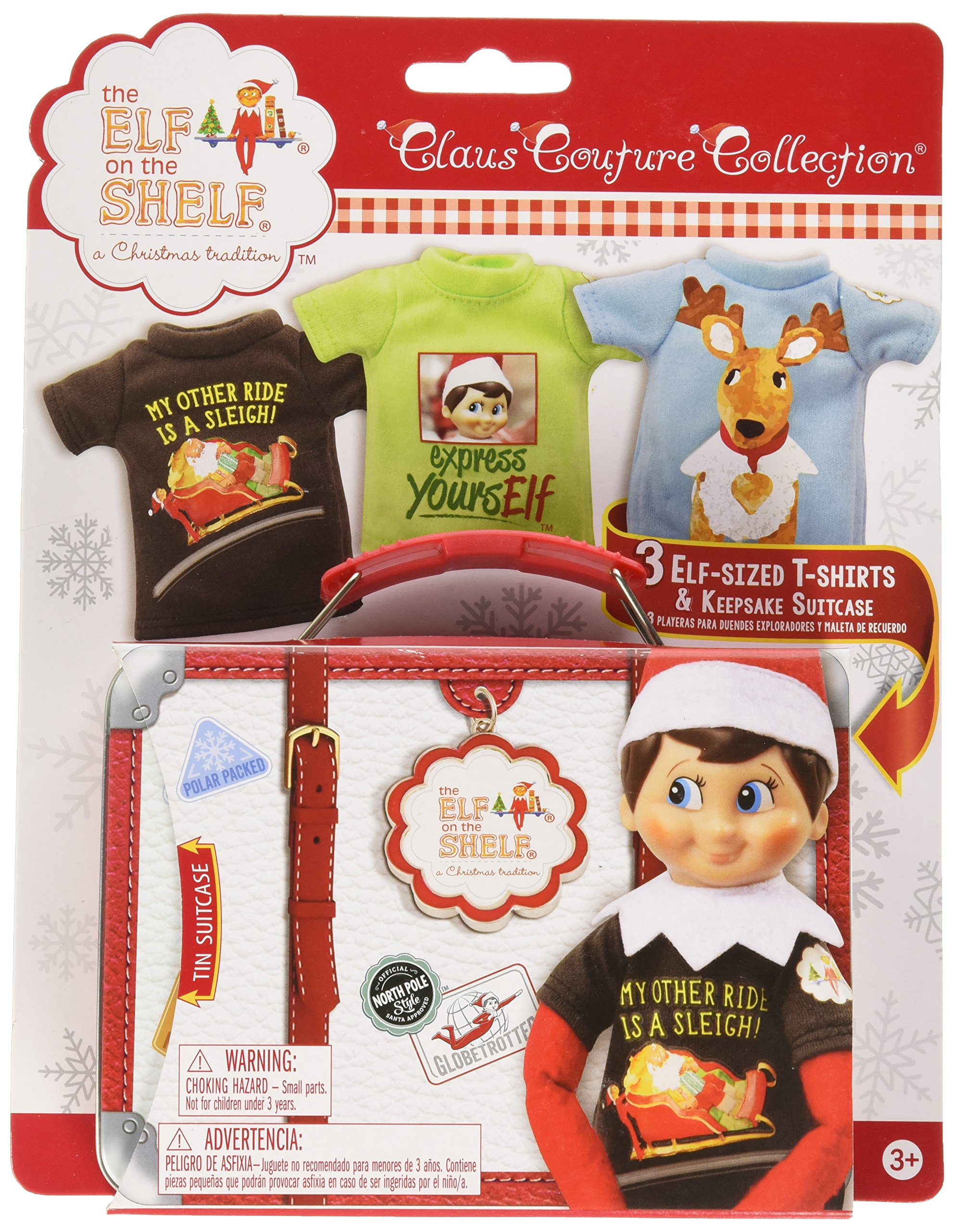 54c568db2 Amazon.com: Elf on The Shelf Graphic Tee Multipack Express Yourself  Novelty: Toys & Games
