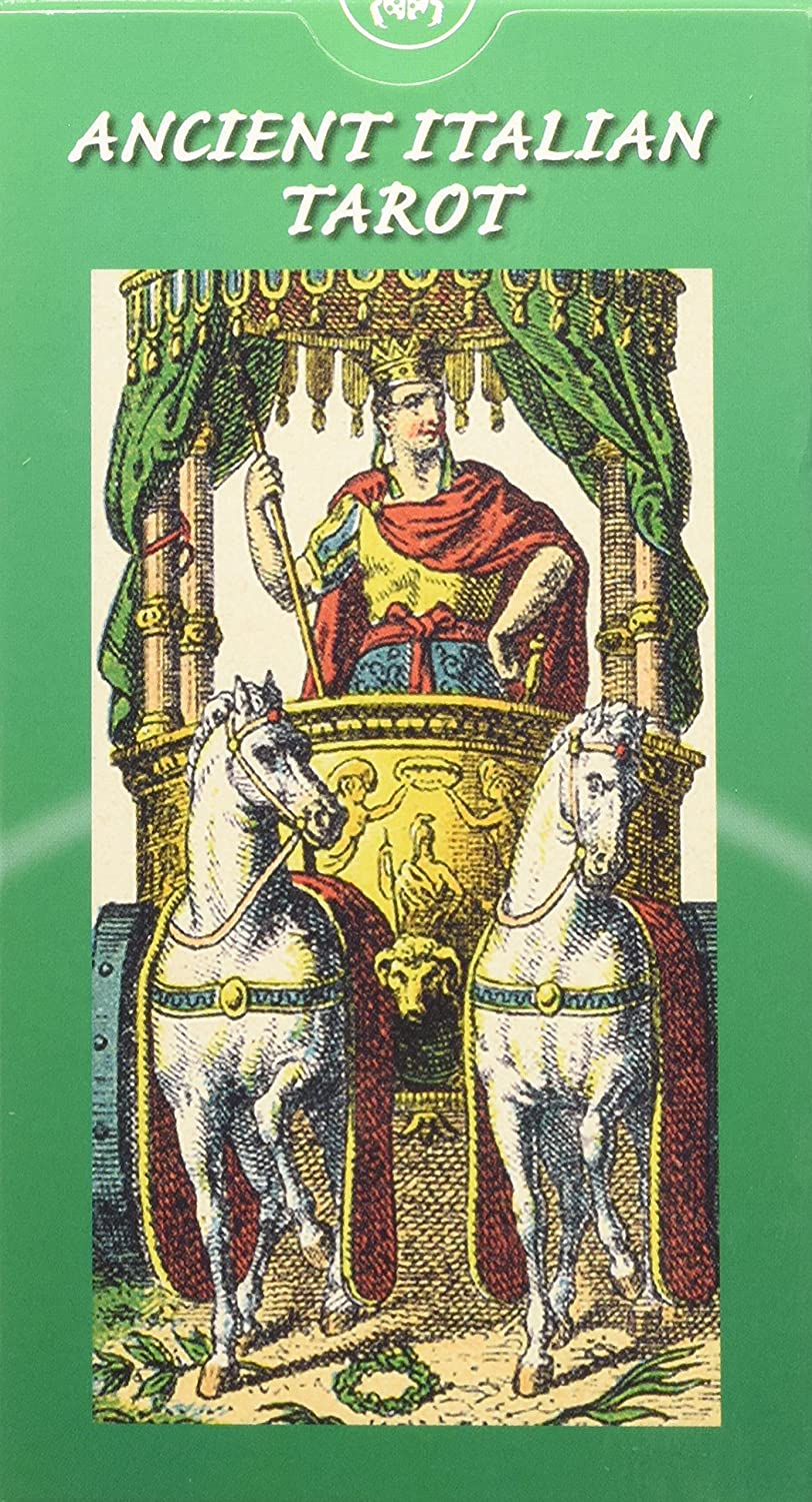 Ancient Italian Tarot: 78 full colour tarot cards Lo Scarabeo EX11 Occult Mind