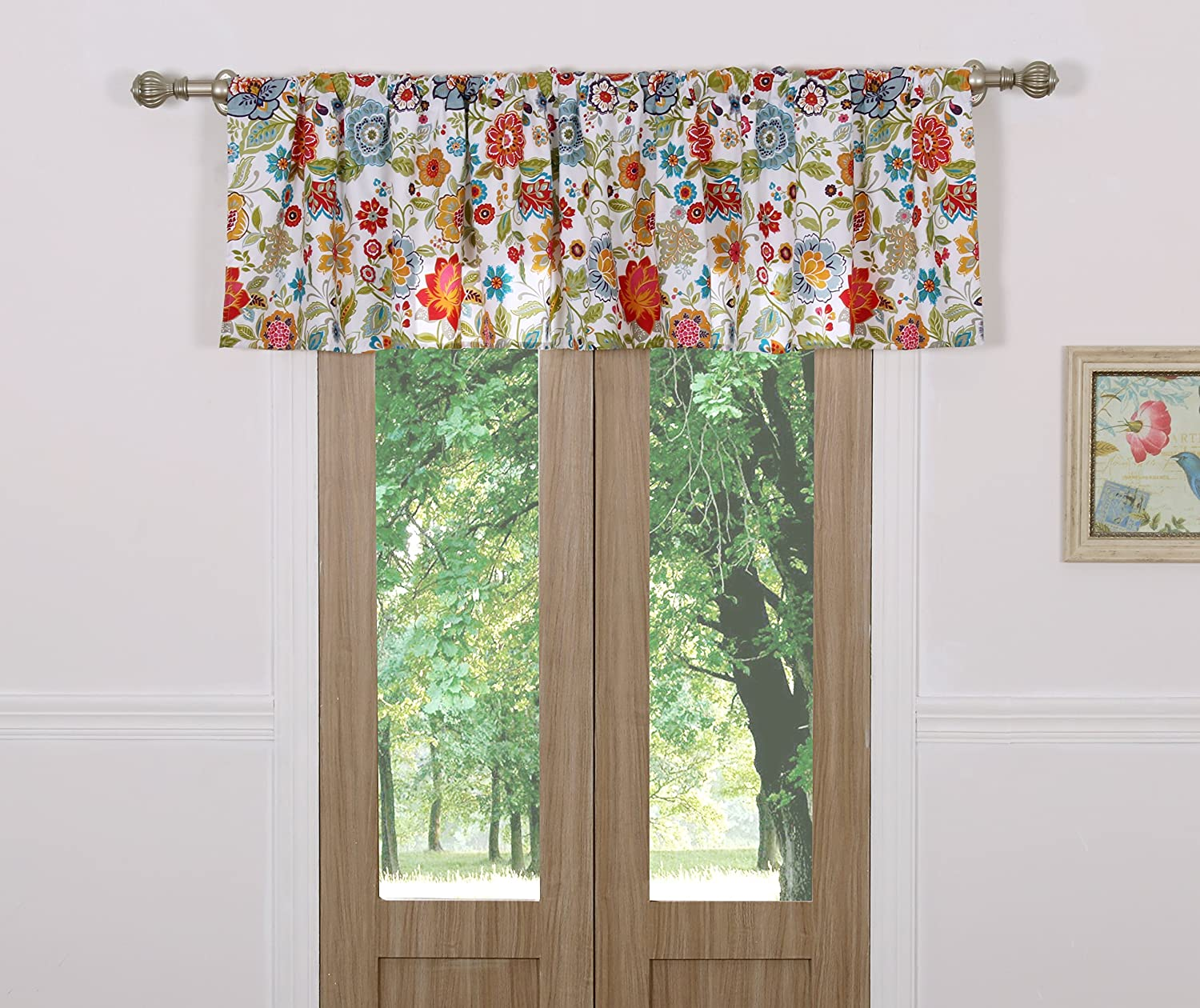 Astoria White Window Valance
