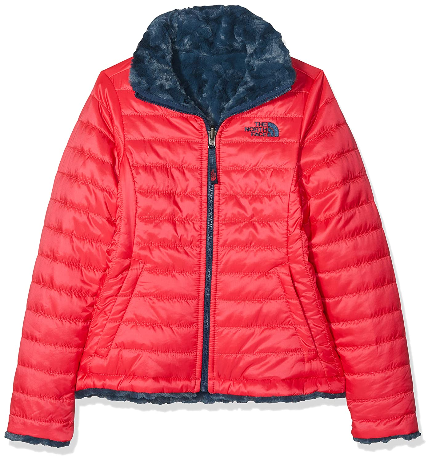 7ae4fd9f0 THE NORTH FACE Children's Reversible Mossbud Swirl Jacket: Amazon.co ...