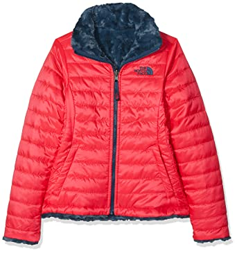 640b51c3a6c The North Face Girl s Reversible Mossbud Swirl Jacket - Atomic Pink - XXS