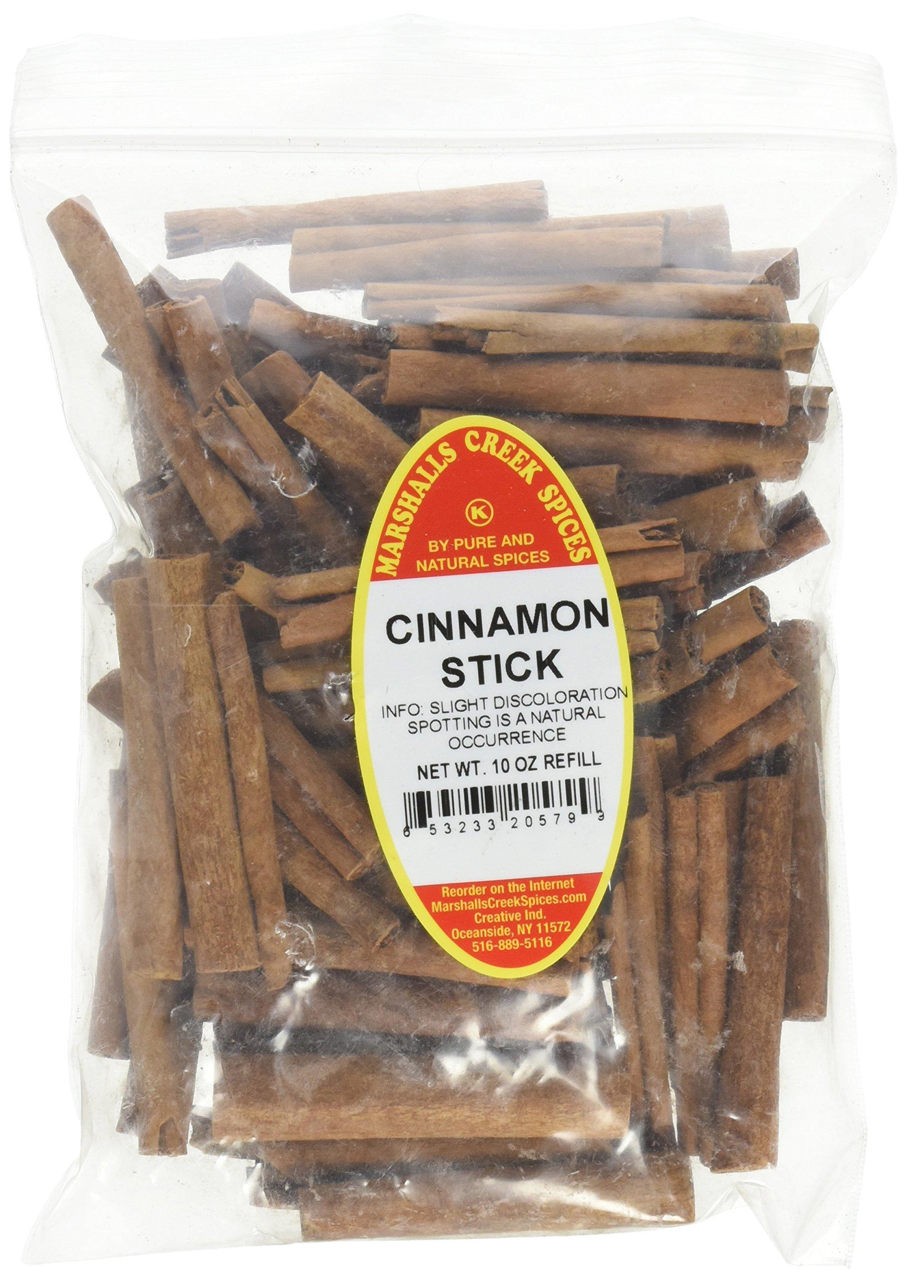 Marshalls Creek Spices Kosher Cinnamon Sticks Refill, 10 Ounce