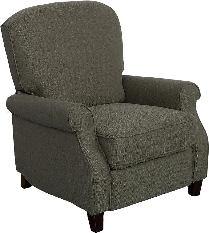 Noah Fabric 3 Seater Manual Recliner Sofa
