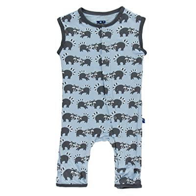 Kickee Pants Baby Boys' Print Tank Coverall Prd-kptca805-Prn