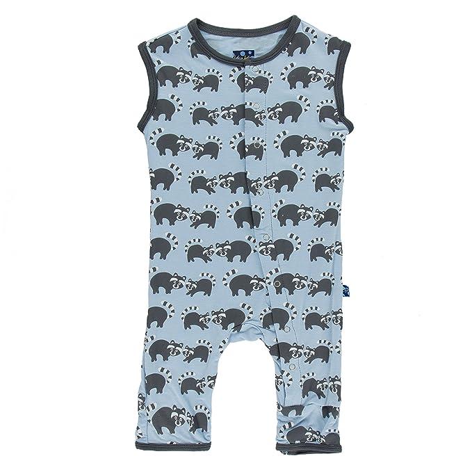 Amazon.com: Kickee Pantalones bebé Boys Imprimir Tanque ...