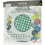 "Cando - 10-0853 Web Hand Therapy Device, Latex, 14"" Diameter, Green: Medium"