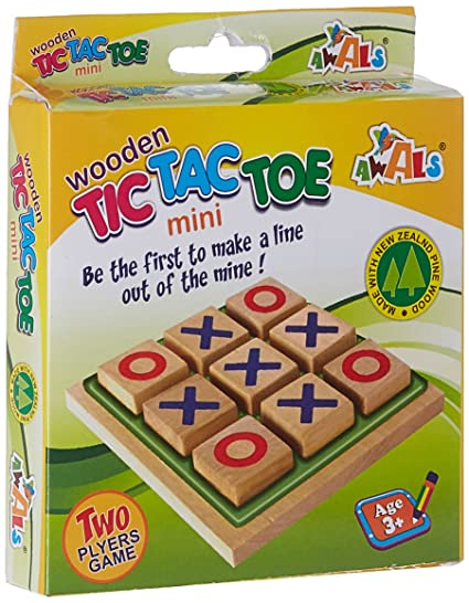 Awals Mini Tic Tac Toe, Multi Color