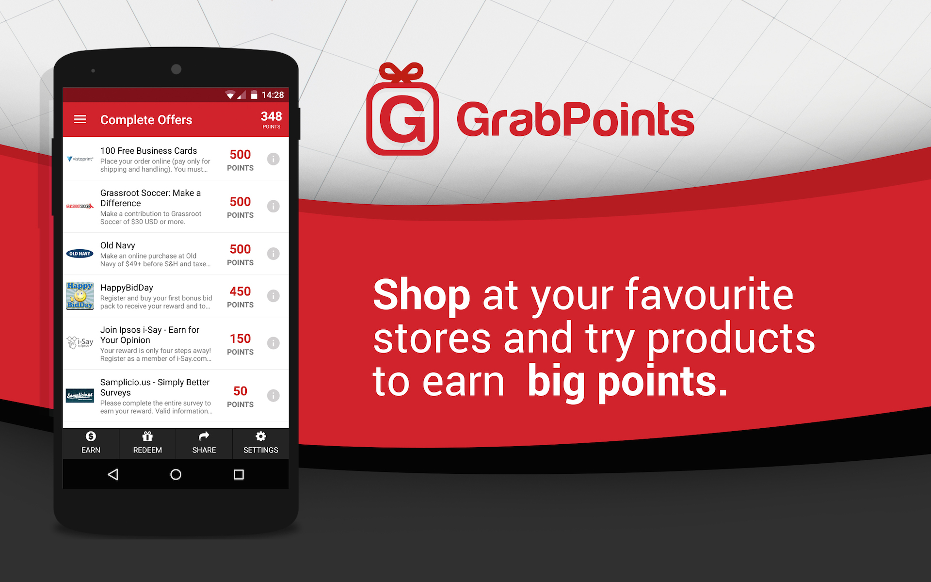 grabpoints make money appstore for android