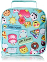 The Children's Place Girls' Emoji Backpack and Pencil Case Set