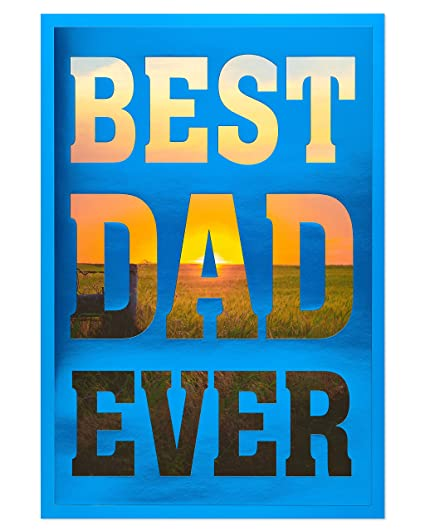 Amazon american greetings best dad ever fathers day card with american greetings best dad ever fathers day card with foil 6051644 m4hsunfo