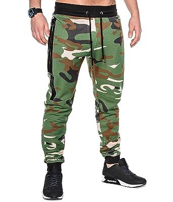 release date: cfe04 b3903 BetterStylz SlvrCatBZ Hombre Camoflage Pantalones Track Pant Sportswear  Tech Fleece Deportivos Joggers Pantalón de chándal con