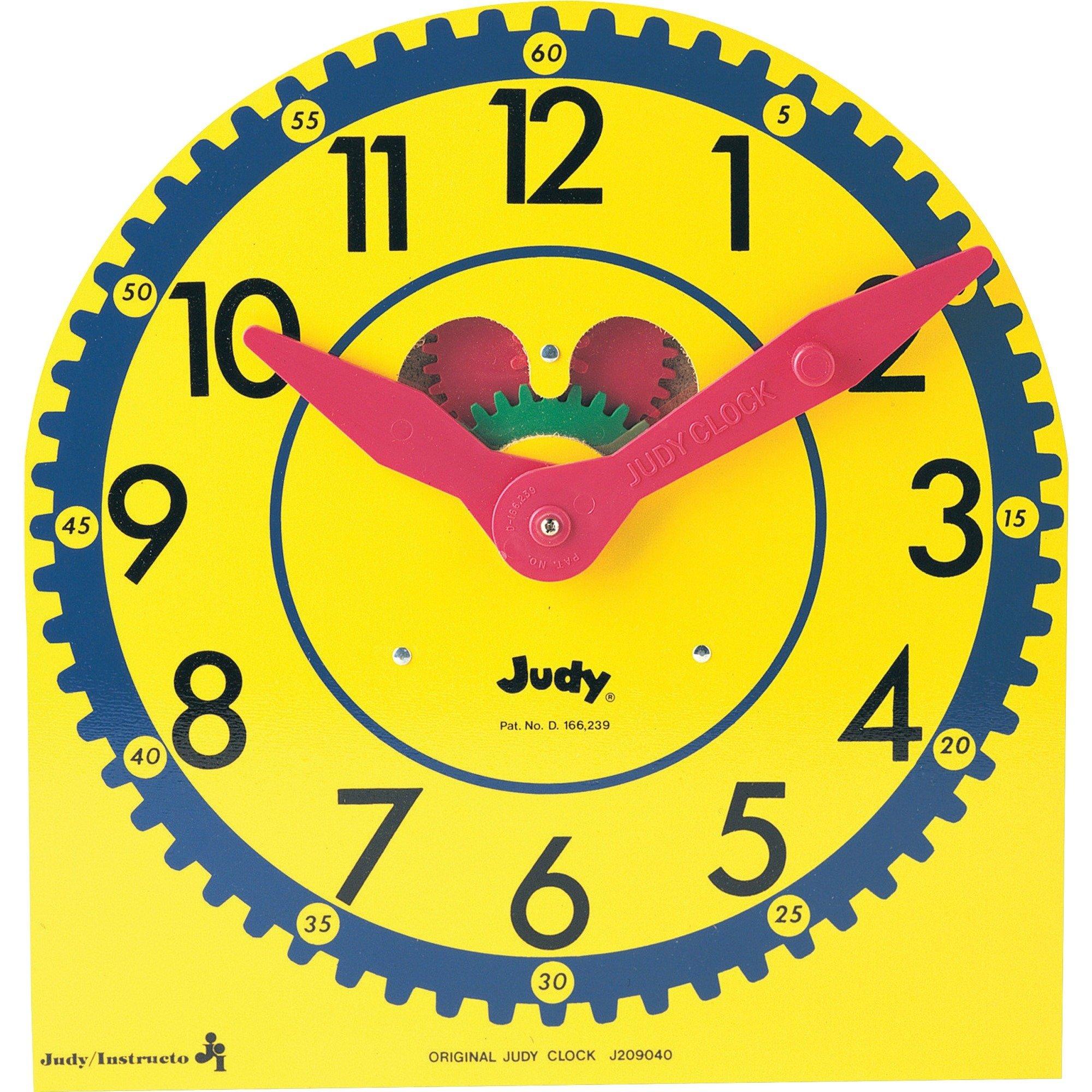Carson-Dellosa Judy Clock CDP0768223199